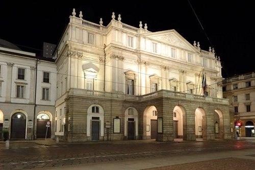 Русскоговорящий гид в Милане, фото, театр Ла Скала, Милан, Италия