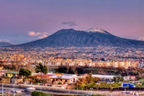 Везувий – единственный в материковой Европе действующий вулкан