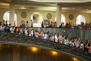 Ватикан ежегодно посещают 5 млн. туристов