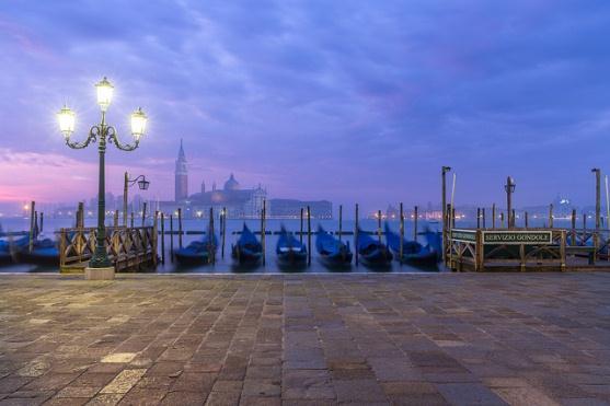 Венеция на рассвете, Италия