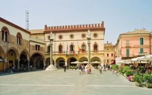 Пьяцца дель Пополо в Равенне