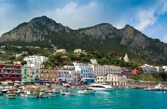 Живописные виды острова Капри