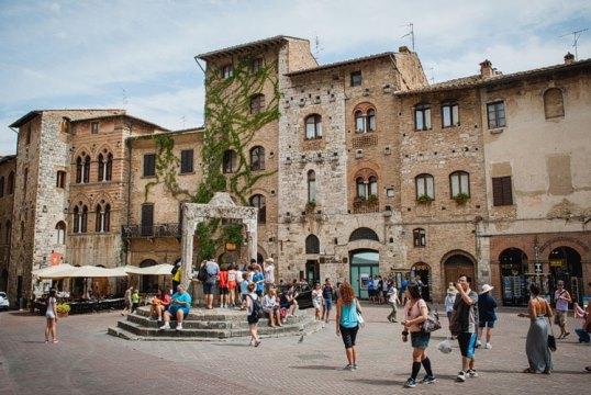 Сан-Джиминьяно в Тоскане включен в список Всемирного наследия ЮНЕСКО