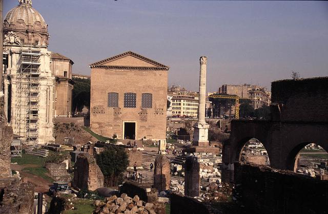 Курия, Римский форум