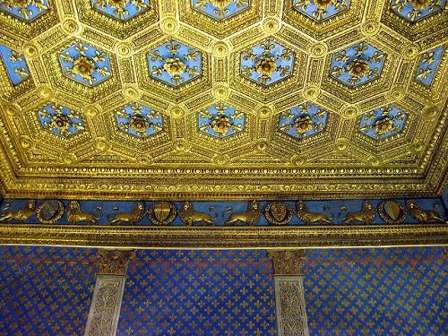 Зал Лилий в Палаццо Веккьо