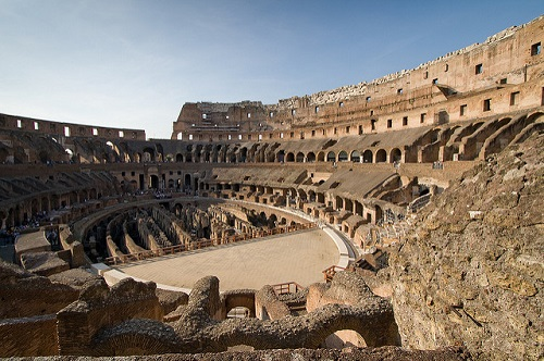 Уничтожить легендарный амфитеатр так и не удалось