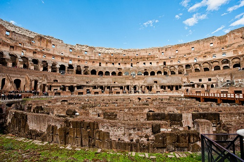 Римский колизей. Взгляд изнутри