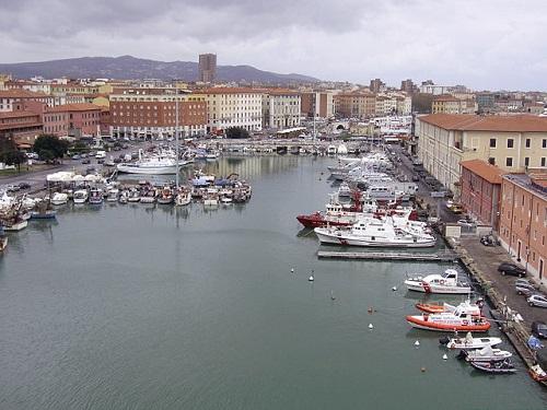 Старый порт Ливорно, Италия