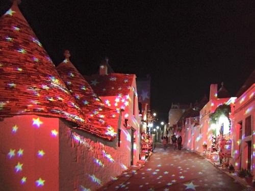 Фестиваль света в Альберобелло