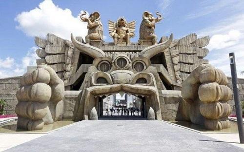 Парк Кабирия в кино-парке Чинечитта