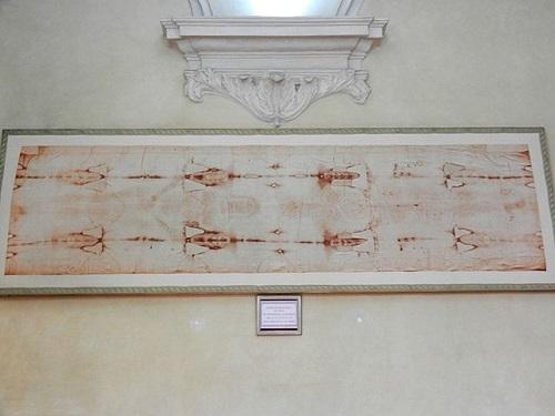 Святыня в соборе Турина