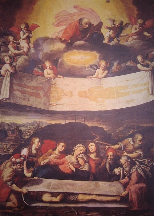 Погребение Христа, икона