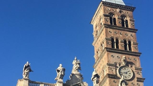 Колокольня Собора Санта-Мария-Маджоре в Риме
