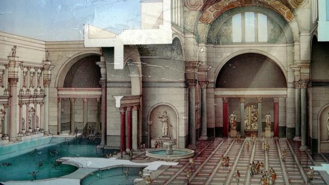 Термы Каракаллы в Риме