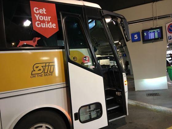 Автобусы из аэропорта Рима в Ватикан