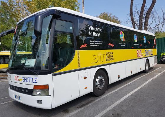Автобусы из аэропорта Рима Фьюмичино до Ватикана