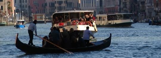 Вапоретто – водный общественный транспорт в Венеции