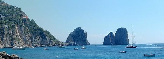 Остров Капри. Коктейль природы, искусства и светской жизни