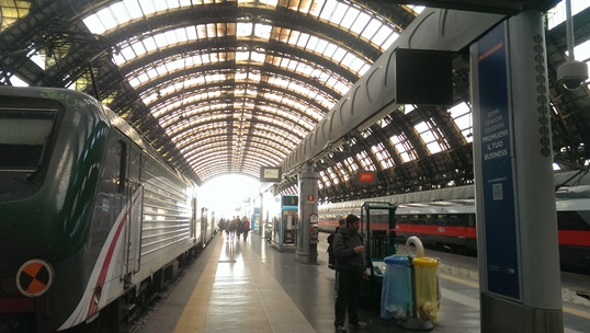 Вокзал Milano Centrale
