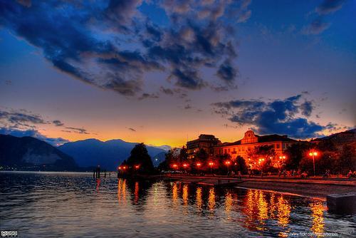 Озеро Маджиоре в Италии
