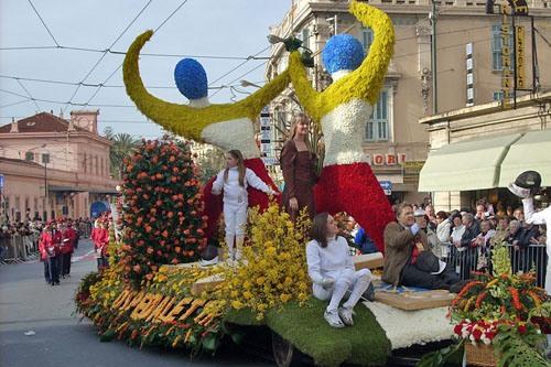 Парад цветов в Сан-Ремо