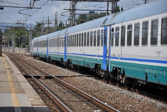 Поезд от Тревизо до Венеции