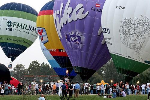 Фестиваль воздушных шаров в Ферраре