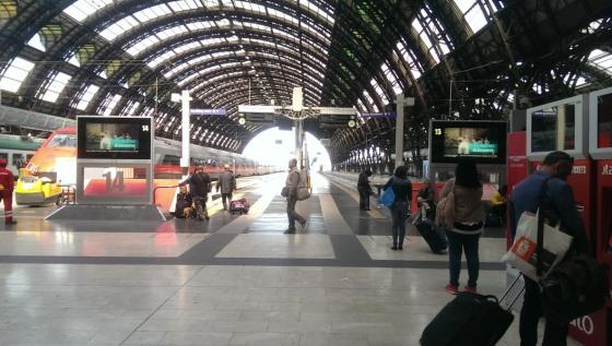 Станция Milano Centrale