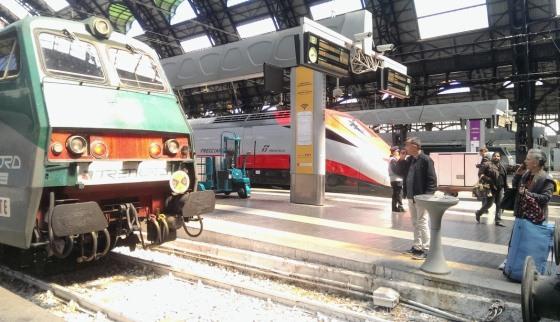 Поезда Милан-Венеция