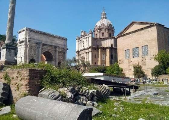 Погода в Риме в апреле