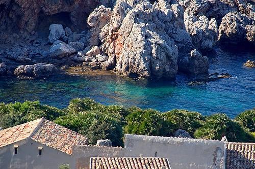 Пляж Зингаро на Сицилии