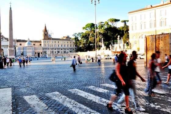 Народная площадь в Риме