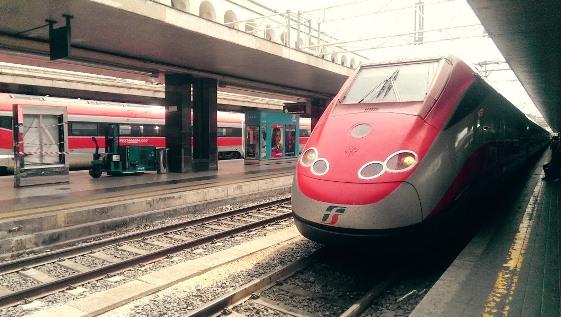 Поезд из Рима в Венецию