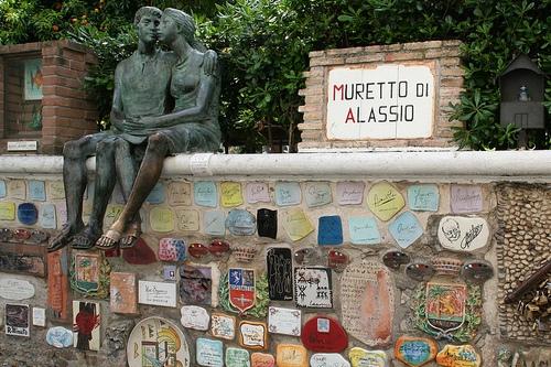 Стена Муретто в Алассио