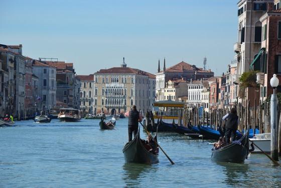 Апрель в Венеции
