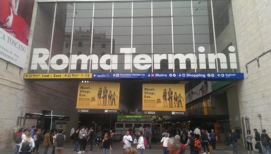 Станция Термини в Риме