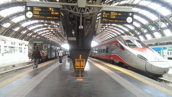 Поезда из Милана в Рим