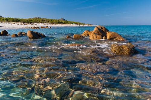 Пляж Биддероса на Сардинии