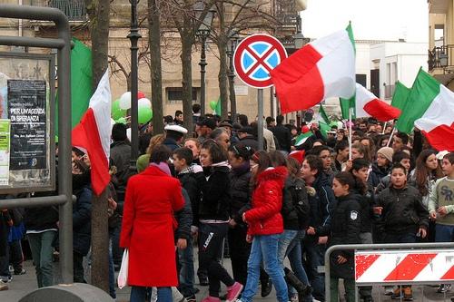 Празднование Дня Флага в Италии