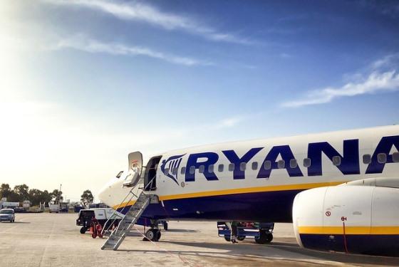 Самолет из Рима в Милан