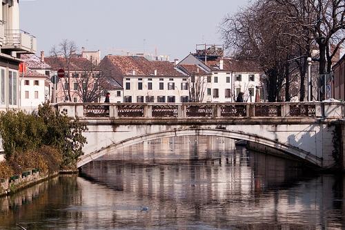 Город Тревизо в Италии