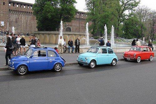 Особенности автомобилей в Италии