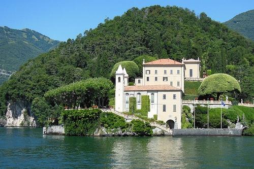 Виллы озера Комо в Италии