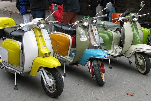 Скутер в Италии