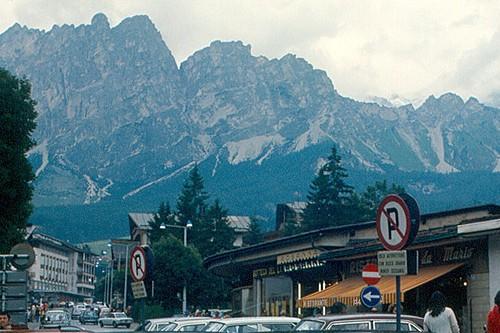 Кортина д`Ампеццо в Италии