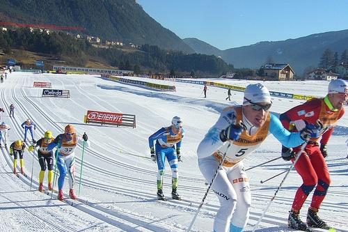 Спортивные соревнования в Валь ди Фьемме
