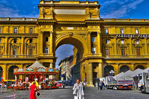 Самые интересные площади во Флоренции