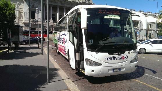 Автобус из аэропорта Бергамо