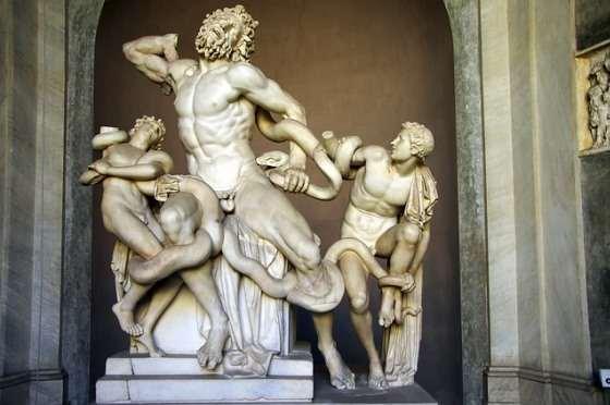 Скульптура Лакоон и Сыновья