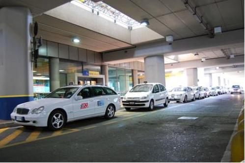 Такси в аэропорту Турина